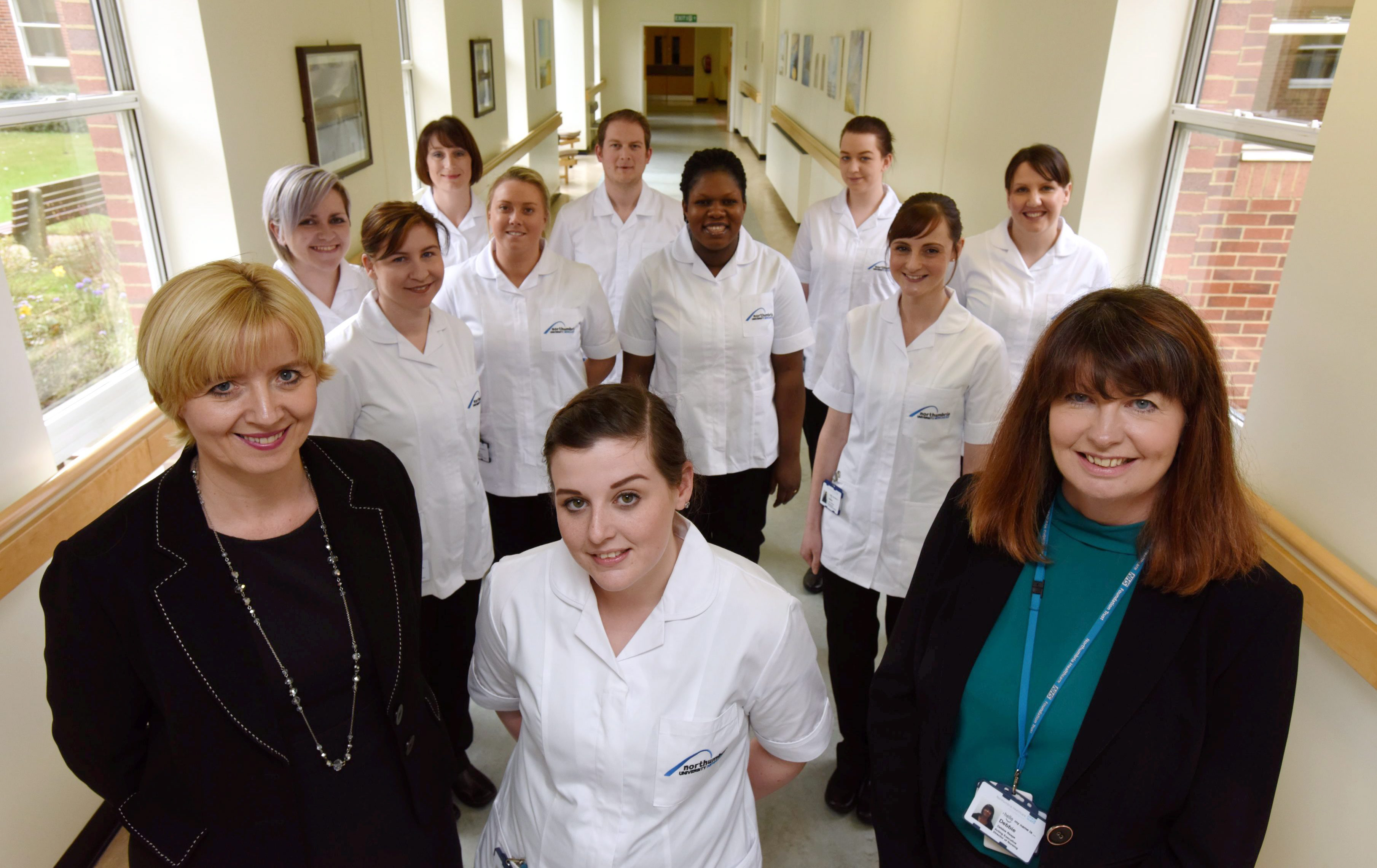 Unique trust and university partnership prepares nursing graduates the Northumbria way