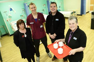 Volunteers provide additional comfort and support in A&E