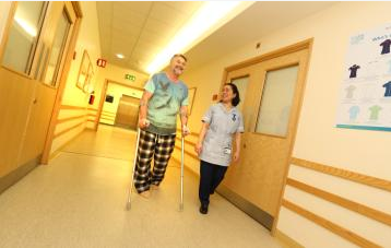Waiting lists halved for North Cumbria's patients needing new hips and knees