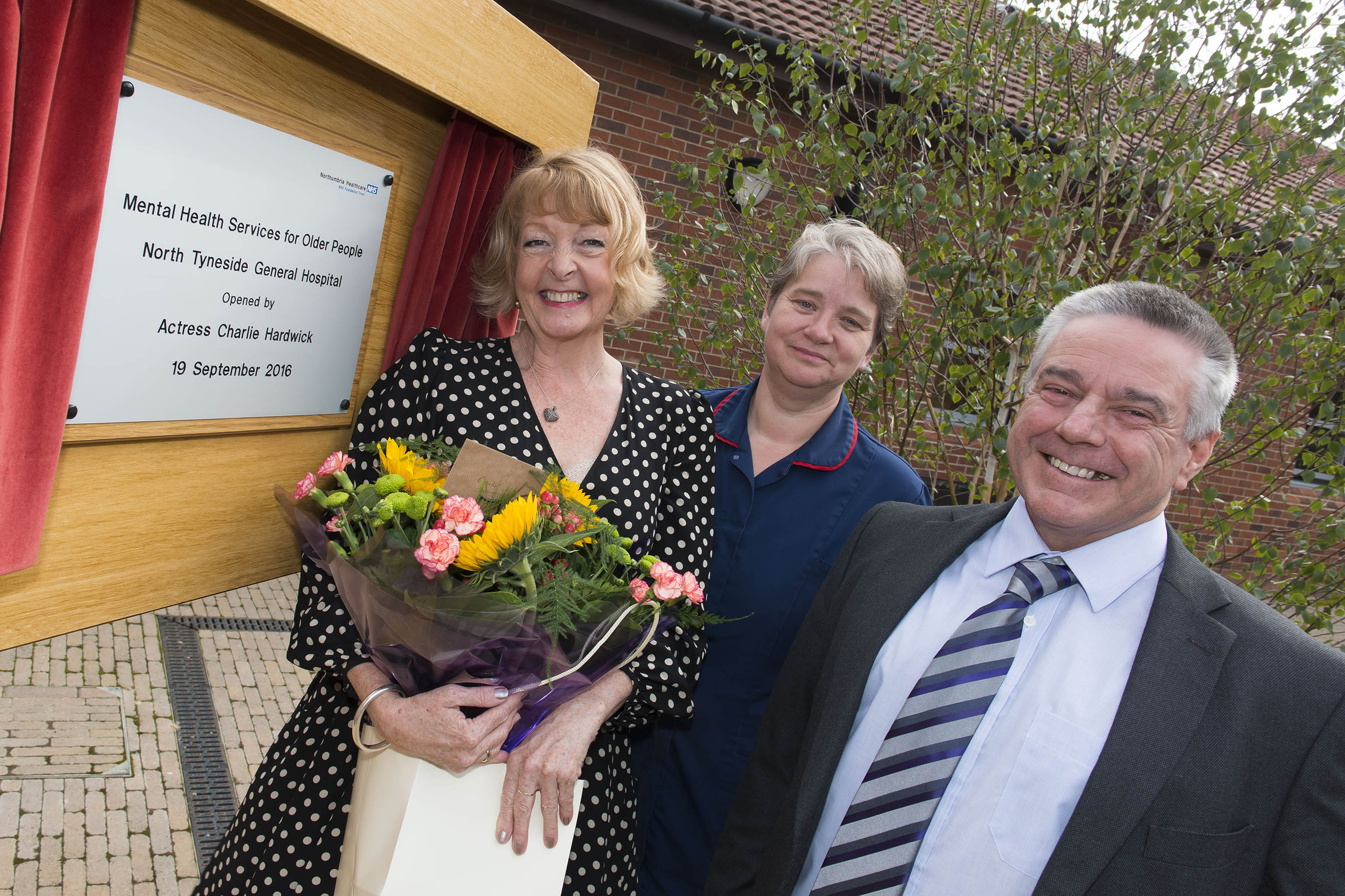 Dementia friend Charlie opens new £6million facility at North Tyneside hospital