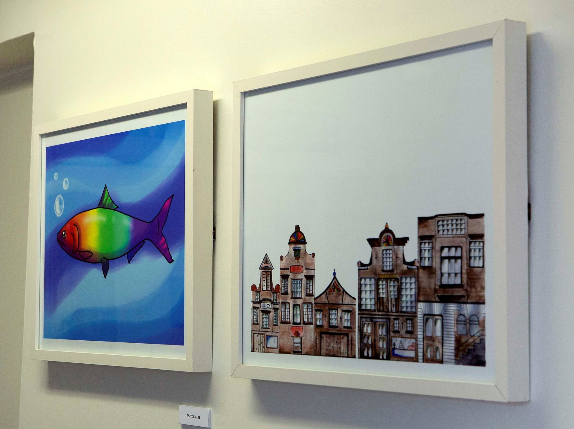 Newcastle College exhibition, North Tyneside General Hospital