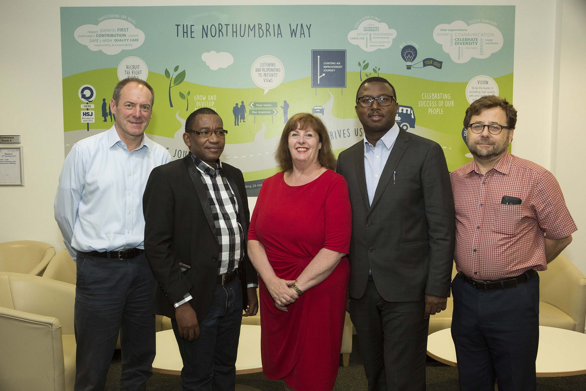 Tanzanian healthcare leaders celebrate Commonwealth partnership with Northumbria visit