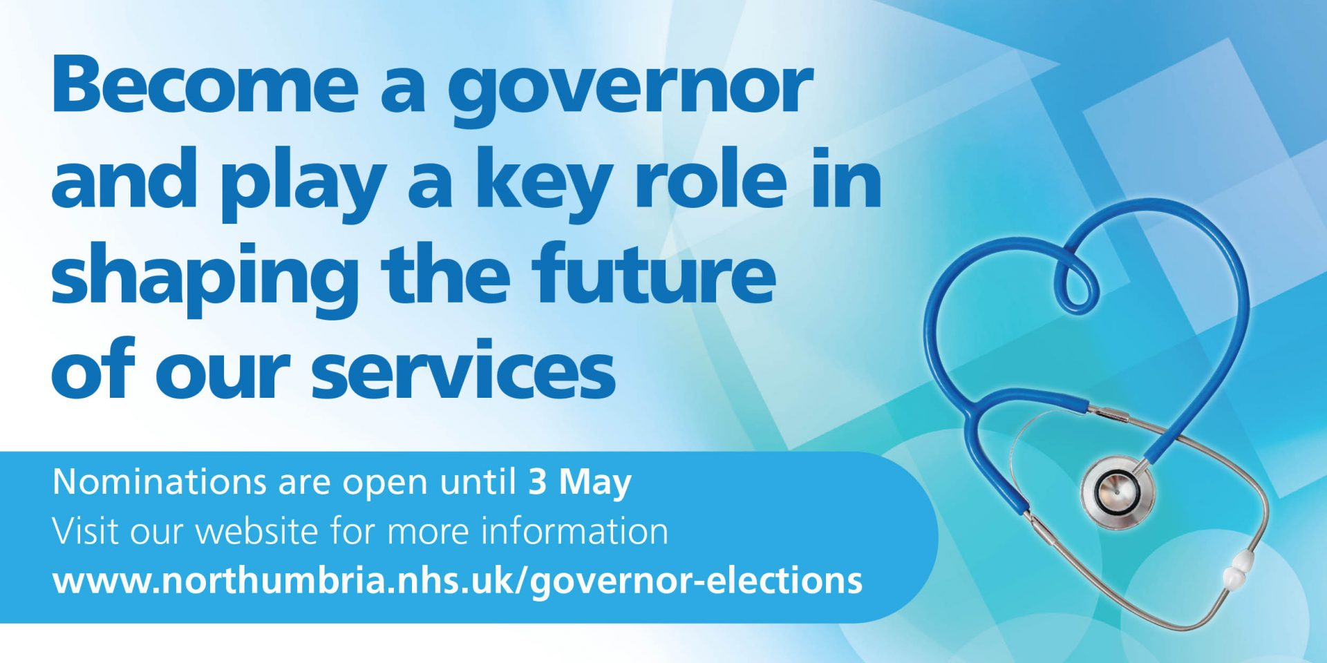 Share your passion for the NHS by becoming a Northumbria public governor