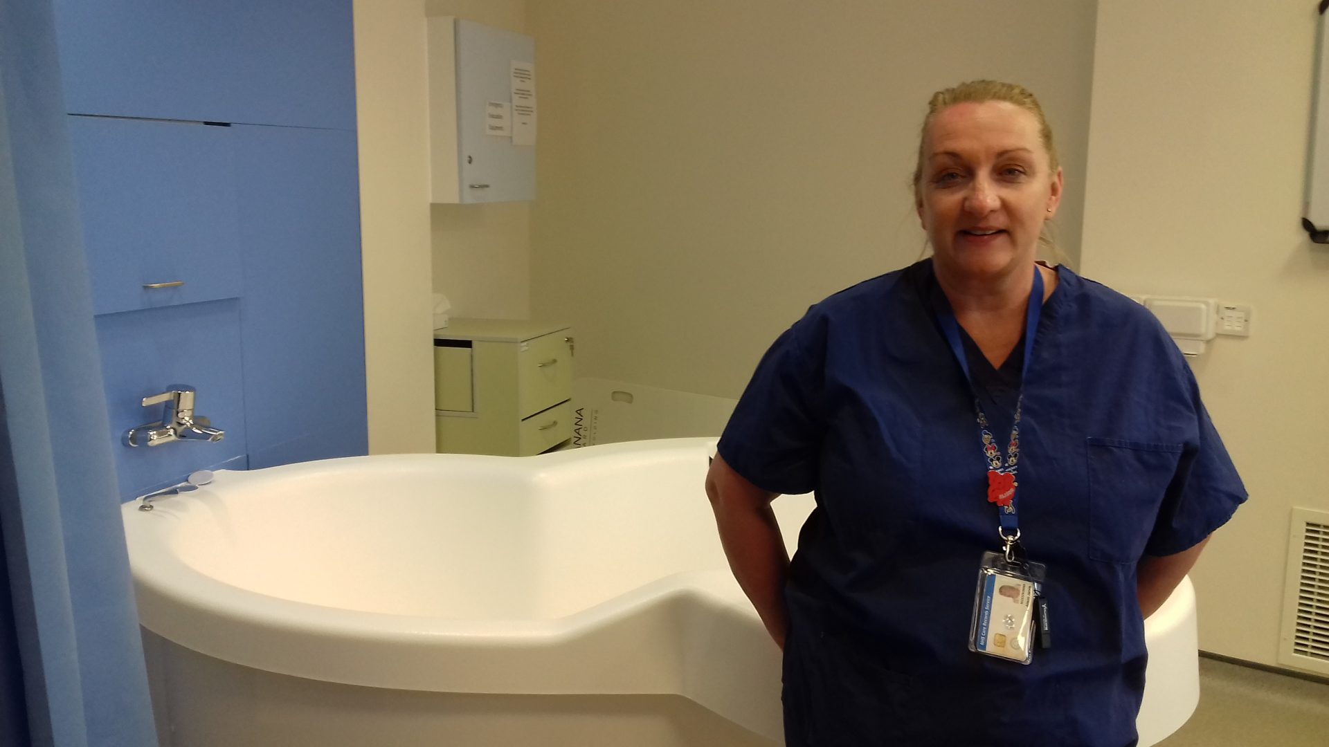 Celebrating international day of the midwife with Alnwick midwife Alison Jarvis