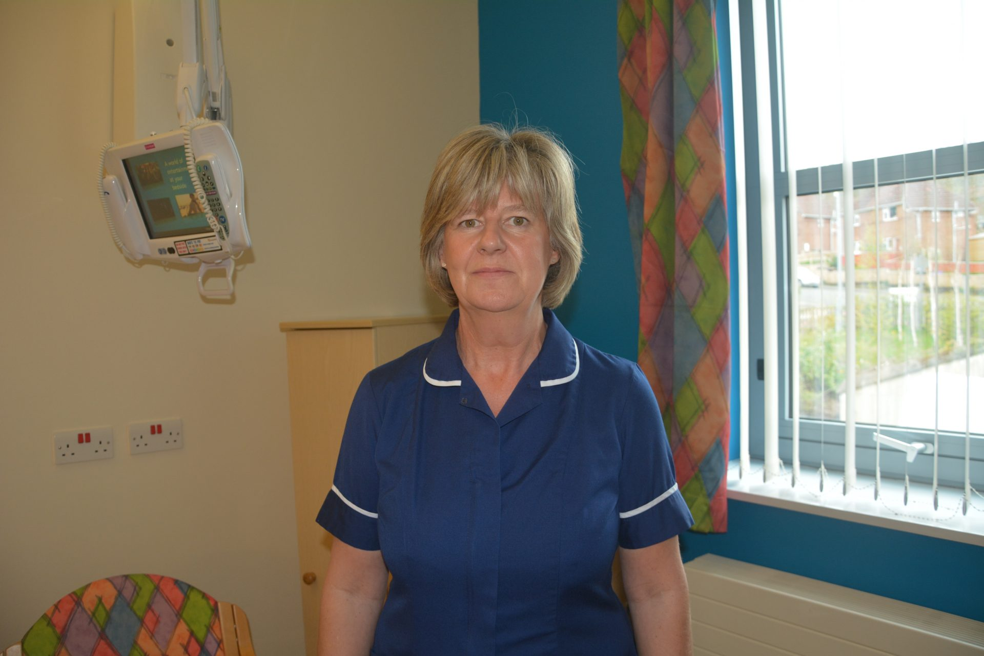 Celebrating international day of the midwife with Hexham midwife Jackie Watson