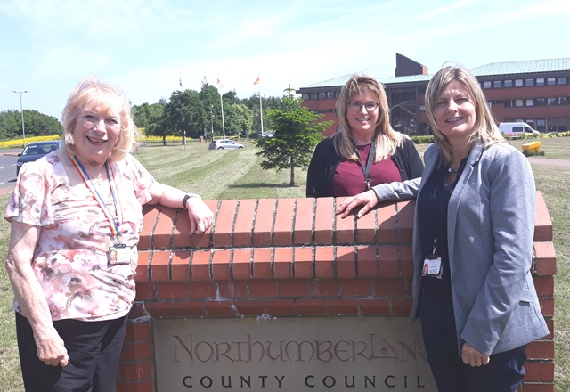 Council and NHS trust team up to provide Northumbrians with 'outstanding' service