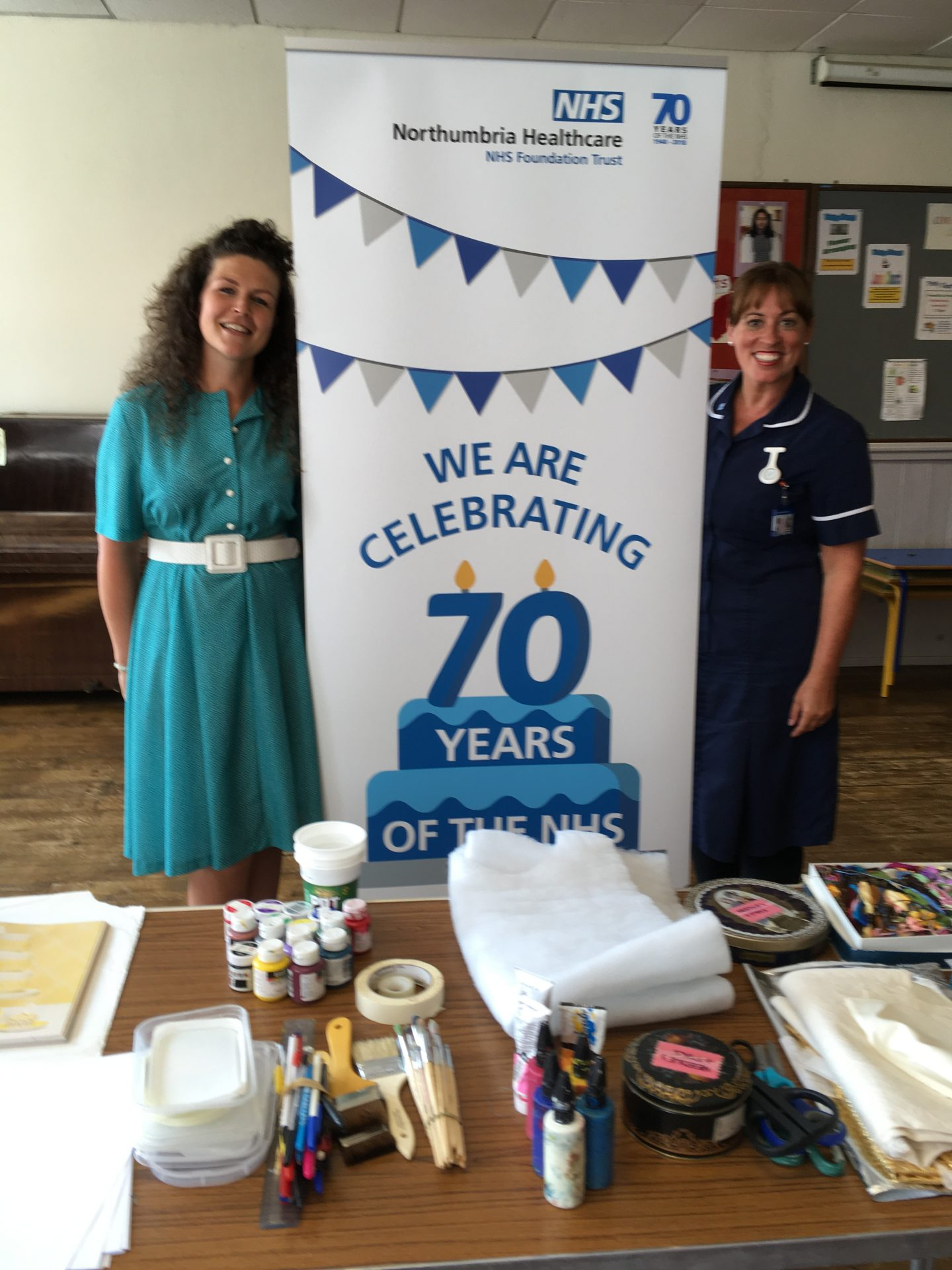 Embroidery workshops to celebrate 70 years of the NHS, Sept 2018