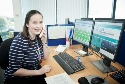 Rebecca Mould completed an apprenticeship at Northumbria Healthcare and has a permanent job with the trust