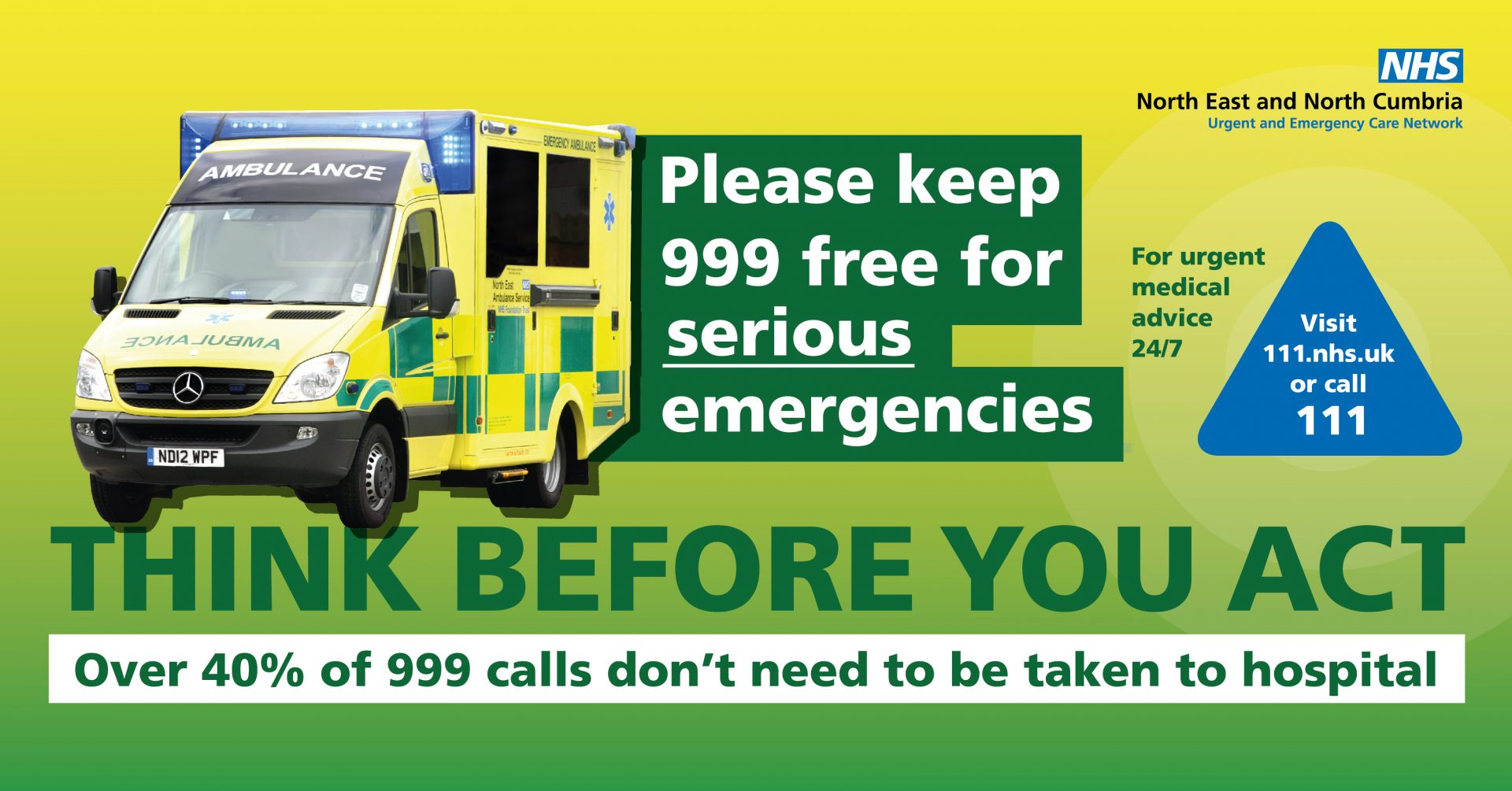 New Year plea from region's NHS to use services wisely