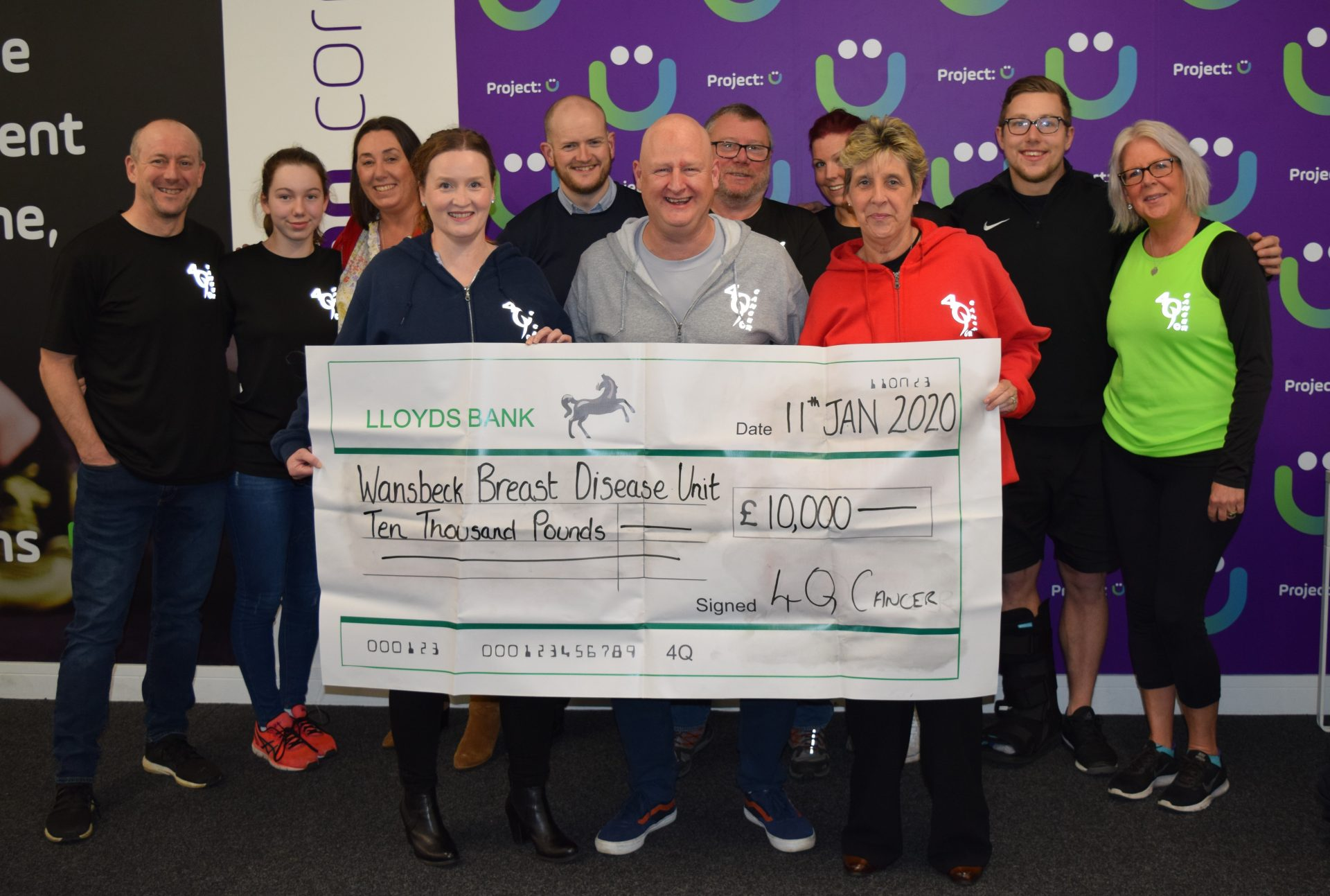 £10,000 raised to support patients at Wansbeck General Hospital