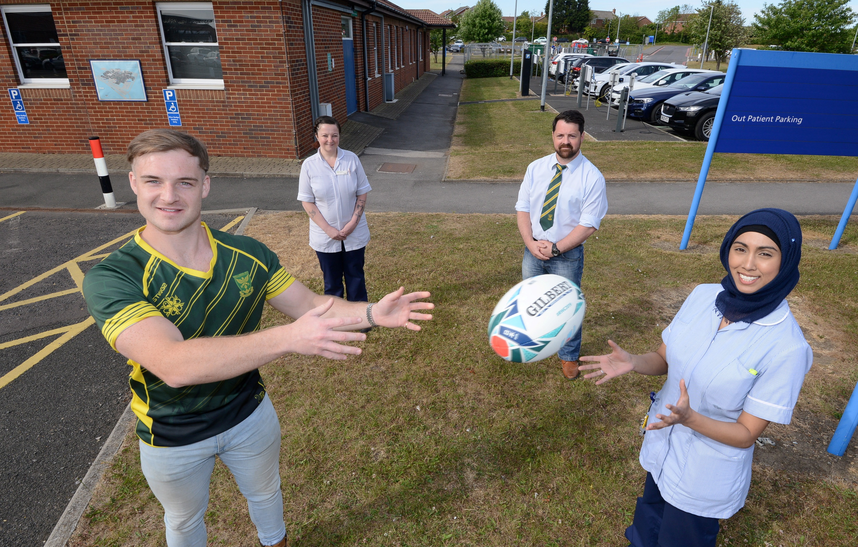 Northumbria teams up with Wallsend RFC for limited-edition jersey
