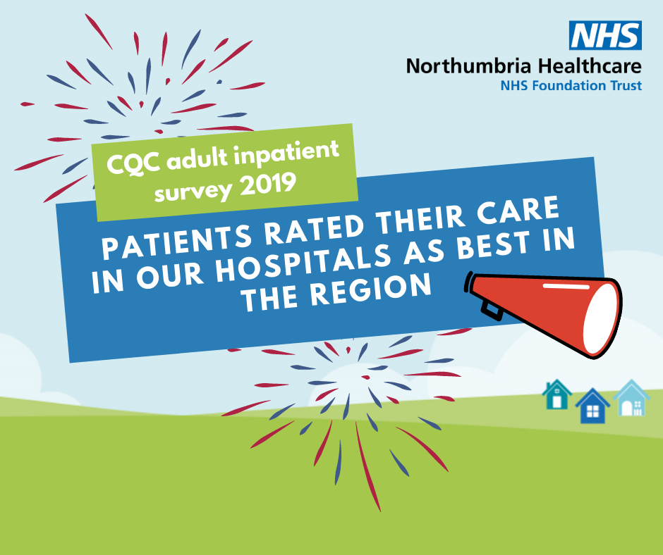 Patients rate Northumbria's care best in region