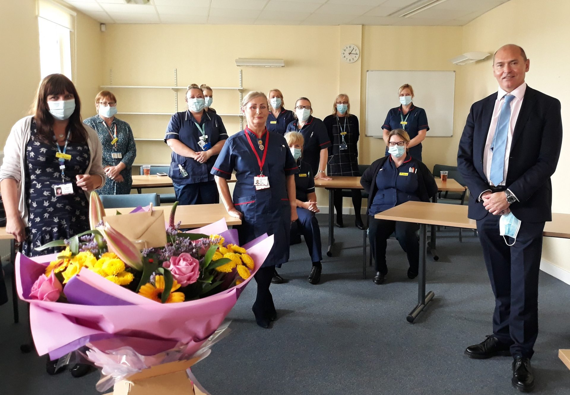 District nurse celebrates half a century in nursing