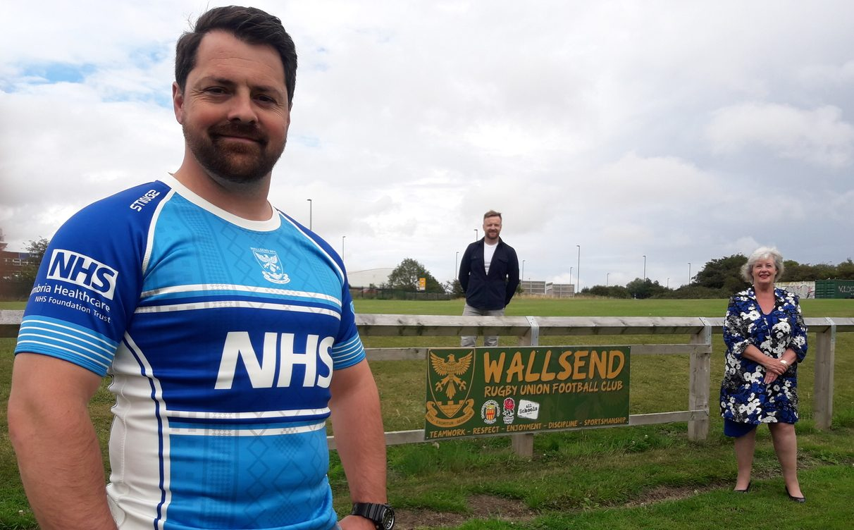 Limited-edition NHS rugby kit raises thousands of pounds for Bright