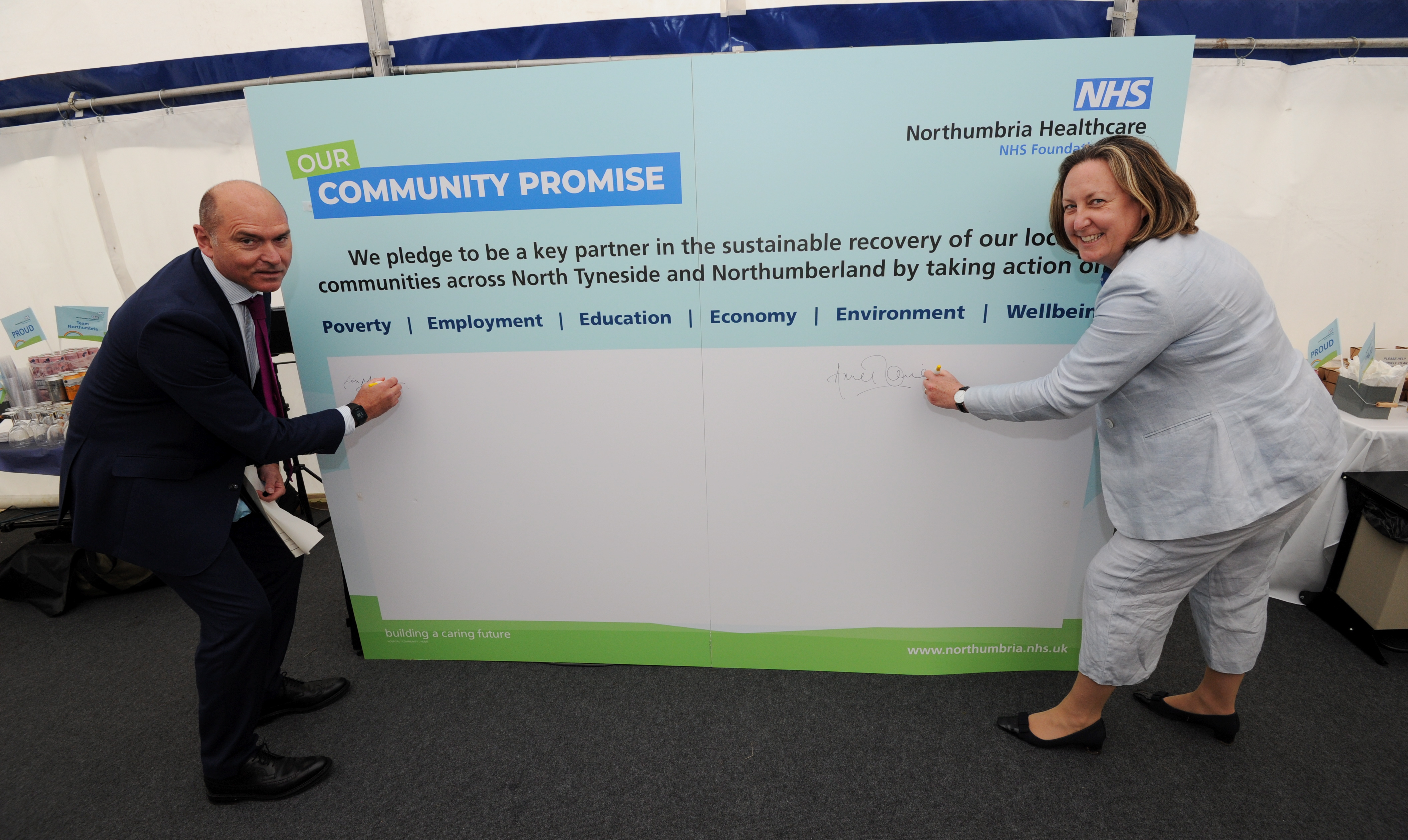 Northumbria Healthcare takes bold step with Community Promise