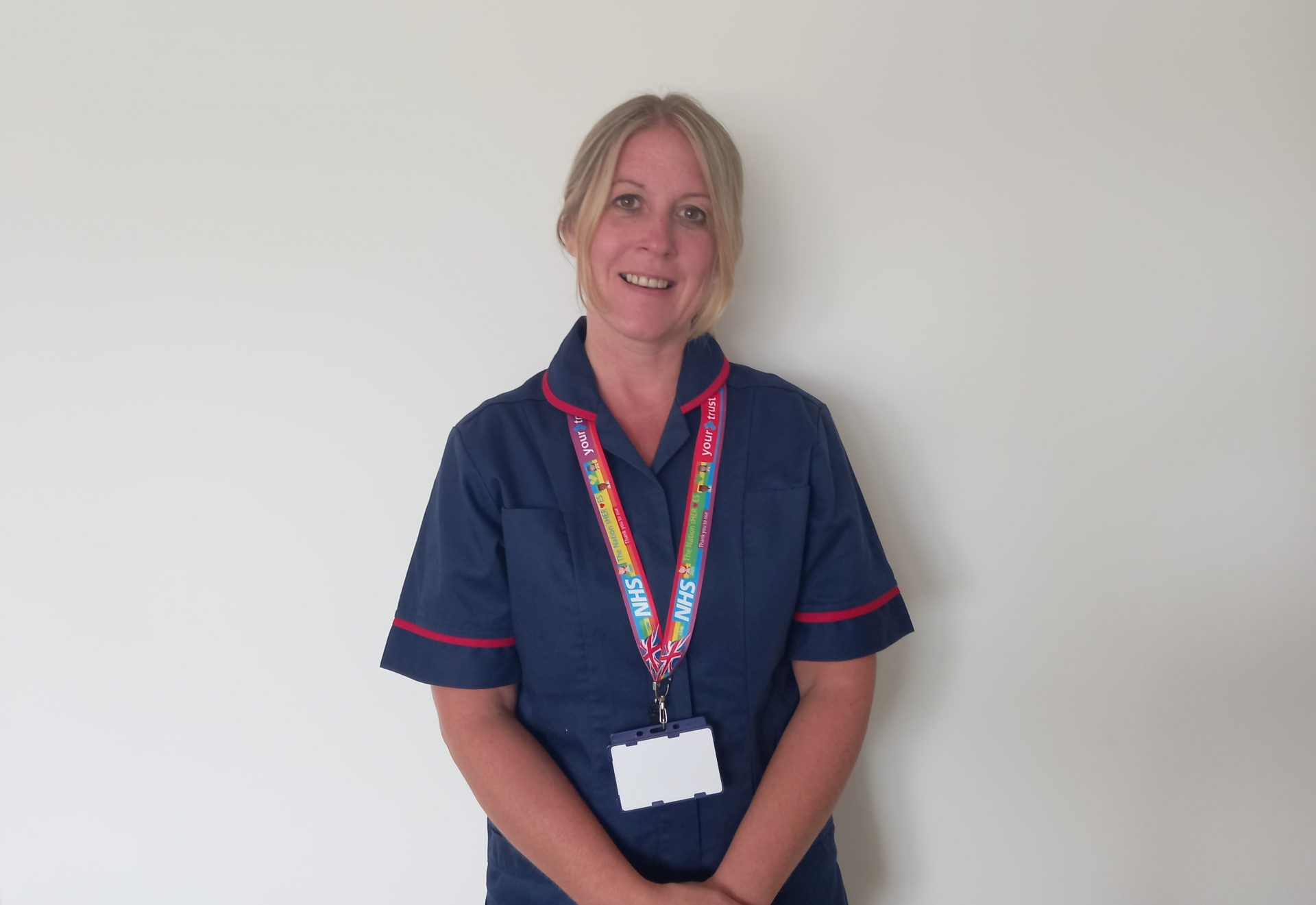 Nurse Karen starts a cancer support staff network following cancer diagnosis in 2018 to help staff live and work well with cancer