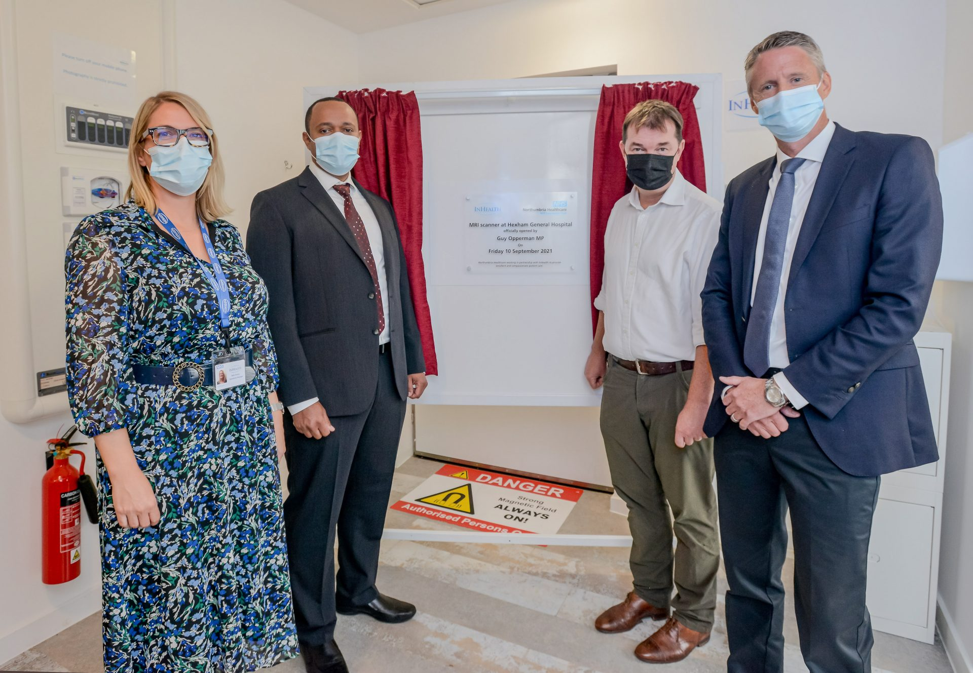 Official opening for state-of-the-art scanner at Hexham hospital